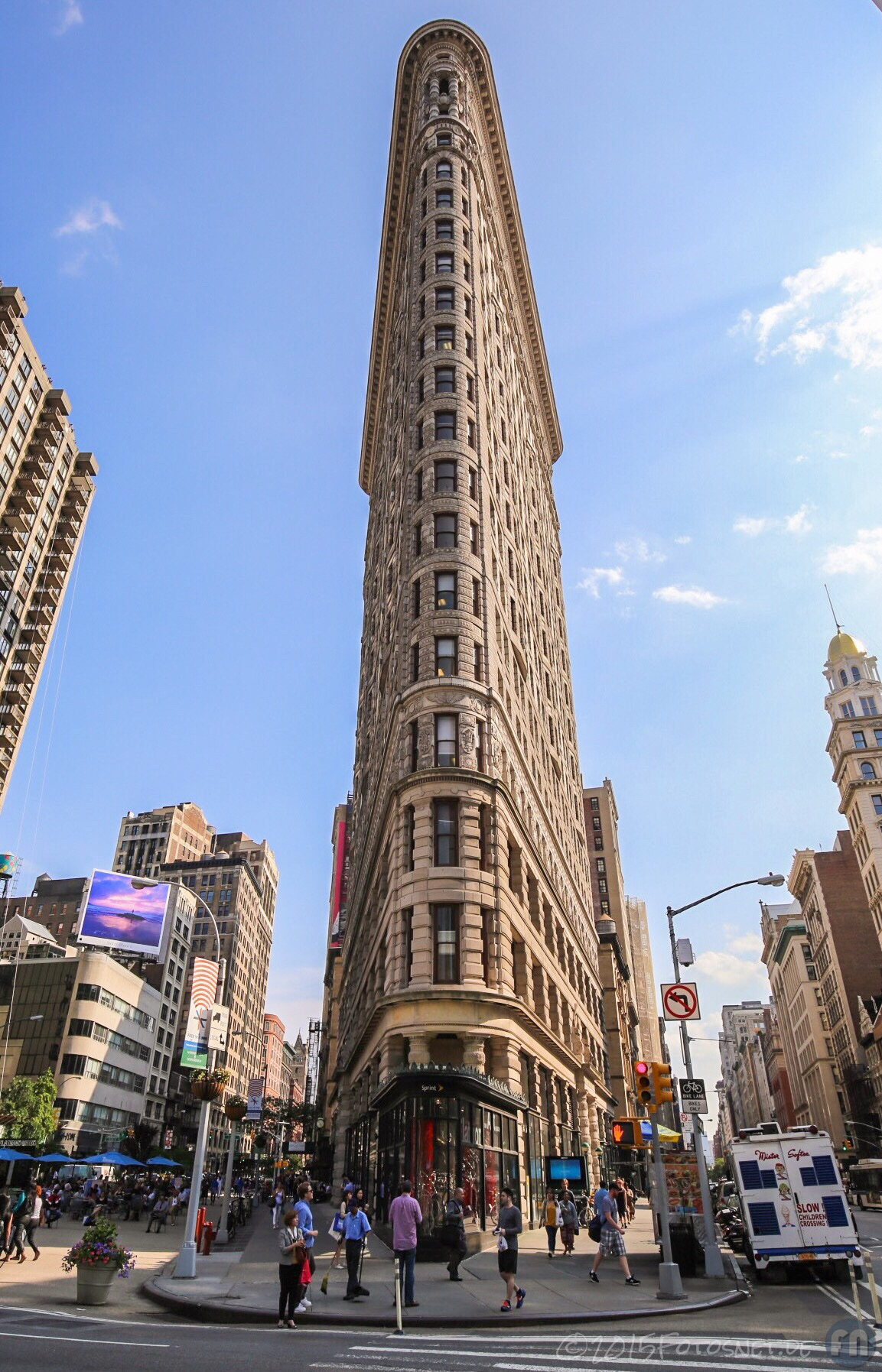 flatiron building manhattan new york fotosnet. Black Bedroom Furniture Sets. Home Design Ideas